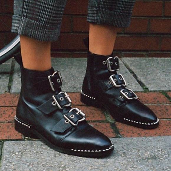 68a70d3c589b Topshop 'Alfie' Buckle Ankle Boots. M_5b2ac855534ef9a31c88ce95